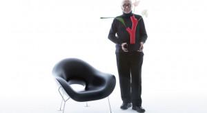 Intrygujący fotel Pupa zaprojektowany przez Andrea Branzi