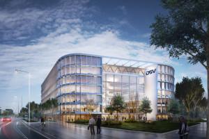 Gwiazdy duńskiej architektury z polskimi architektami połączyły siły. Efekt? Ultranowoczesna siedziba DSV