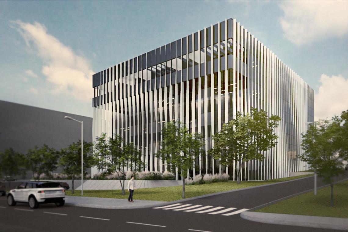 Innowacyjne centrum badawczo-rozwojowe spod kreski Tektonika Architekci