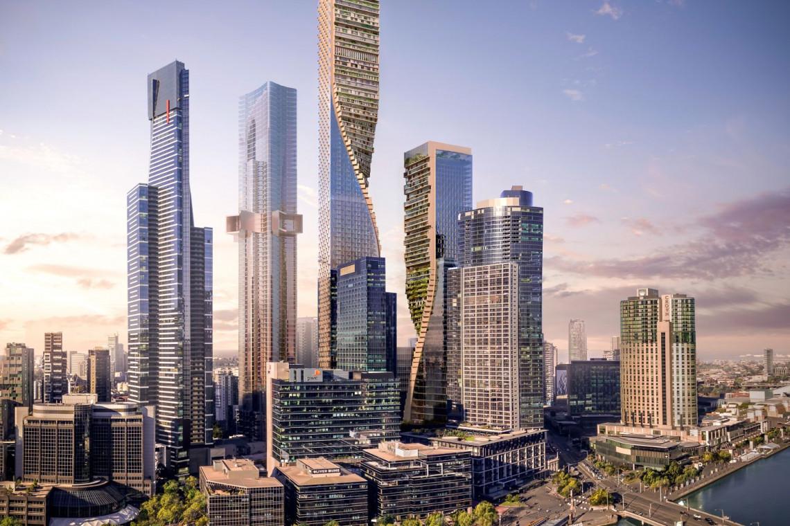 Najwyższy w Australii. Zobacz drapacz chmur, który powstanie w sercu Melbourne
