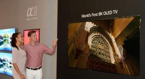 Jako pierwsi na świecie wprowadzają telewizory OLED z rozdzielczością 8K
