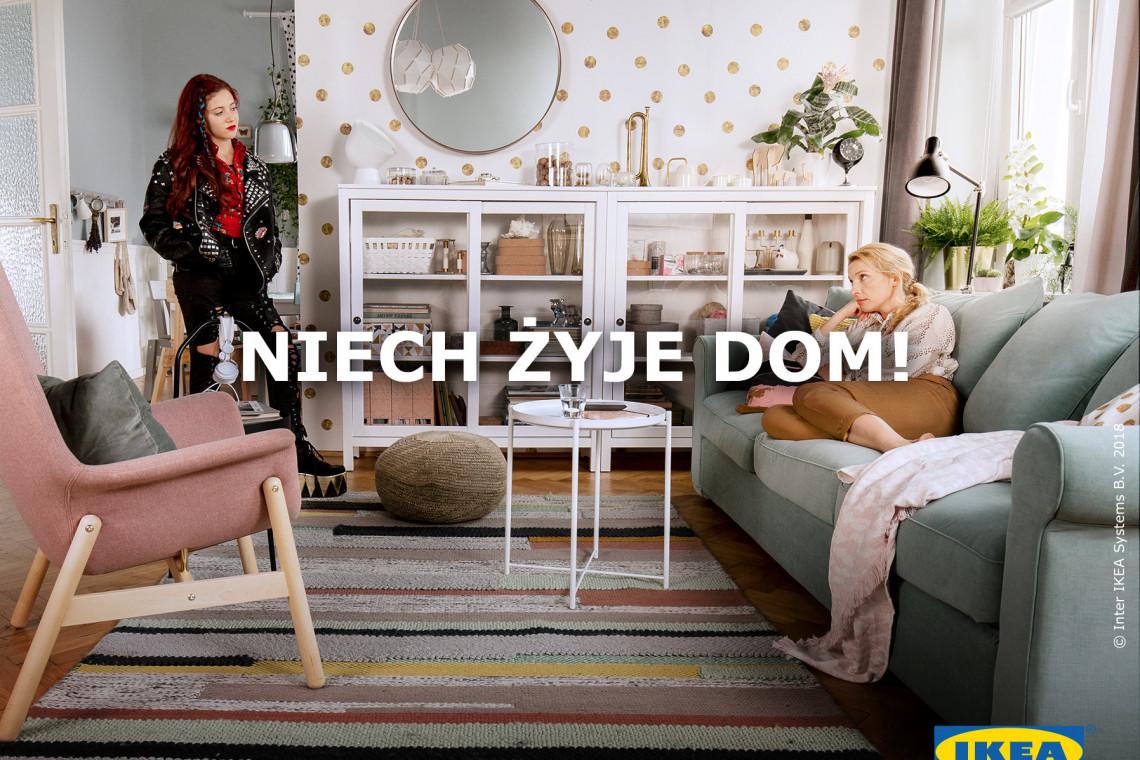 IKEA stawia na domowe relacje. Wyjątkowa edycja katalogu marki
