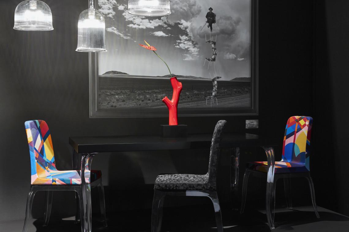 Lampy w kształcie kielichów projektu Stefano Giovannoniego