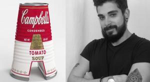 Kultowi artyści i litery alfabetu. Jest Andy Warhol, Banksy, Gaudi i...