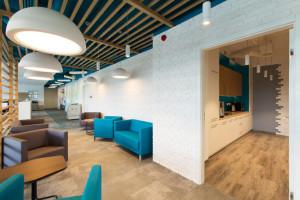 Gdy wnętrze biura i marka są jednością. Oto siedziba Eurogate Logistics szkicu Bit Creative