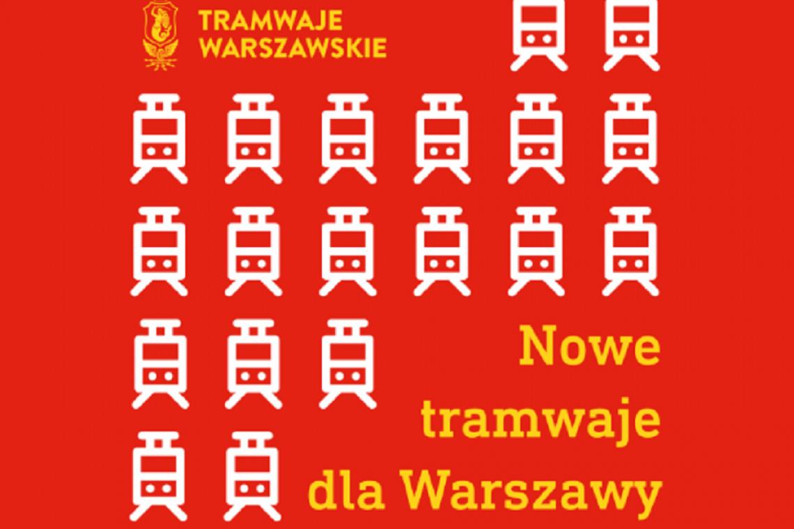 Nowe tramwaje dla Warszawy. Ruszył przetarg