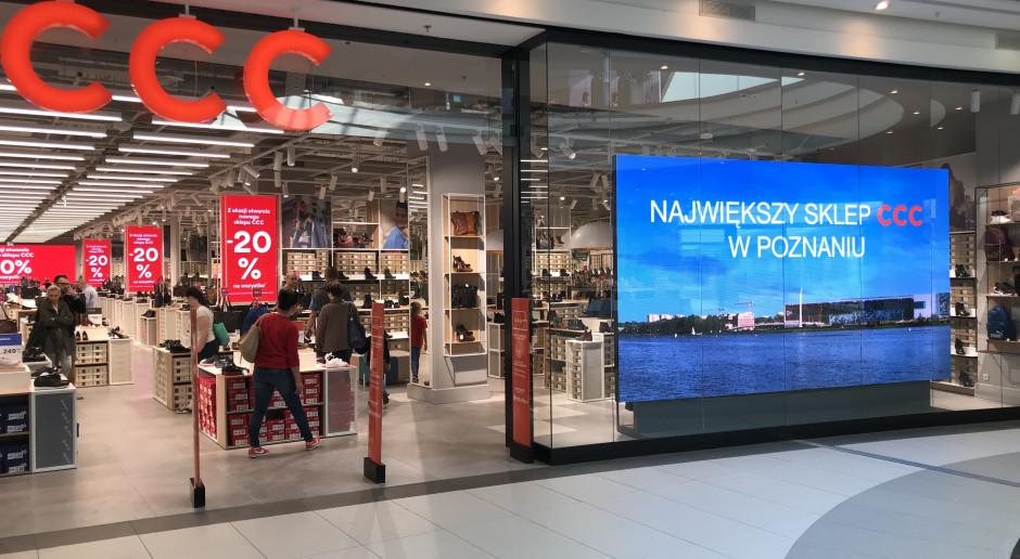 Największy sklep CCC w Poznaniu otwarty