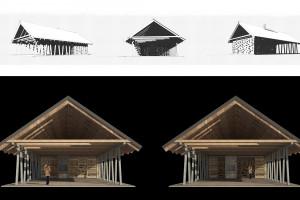 Stodoła Spotkań - oto finalny efekt pracy BXBstudio Bogusław Barnaś i Moss Architektura Krajobrazu
