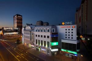 """Pomysł na """"problematyczny"""" budynek.  Oto historia Orange Plaza Financial Center w Łodzi"""