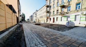 Na finiszu budowa najdłuższego woonerfu w Polsce