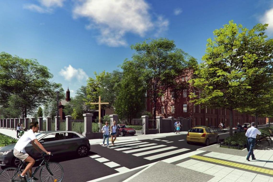Nowe chodniki, jezdnie, więcej zieleni, przestrzeń dla lokali użytkowych. Przebudowa Ogrodowej i Północnej w Łodzi