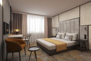 Oto pierwsza odsłona hotelu Metropolo w Polsce. Motyw przewodni: chińskie art déco
