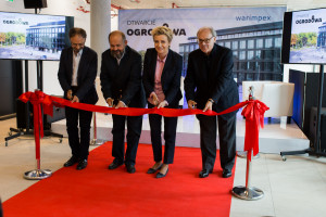Biurowiec Ogrodowa Office w Łodzi oficjalnie otwarty. To projekt OP Architekten