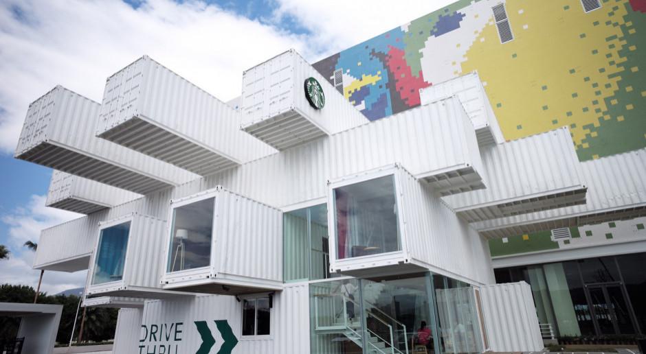 Kengo Kuma zaprojektował niezwykłą kawiarnię Starbucks