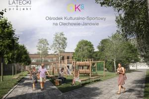 Basen, biblioteka, miejsce spotkań i plac zabaw. Takie ma być Centrum Kulturalno-Sportowe w Łodzi