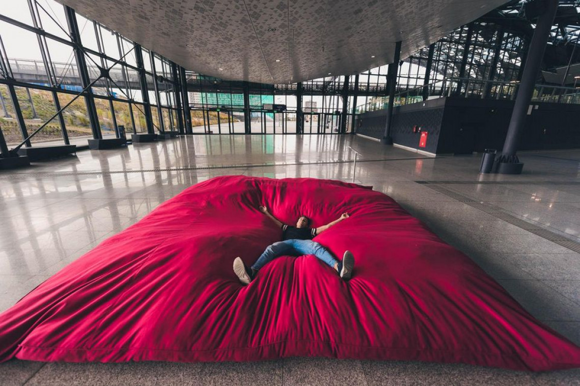 Nowa instalacja artystyczna na dworcu Łódź Fabryczna