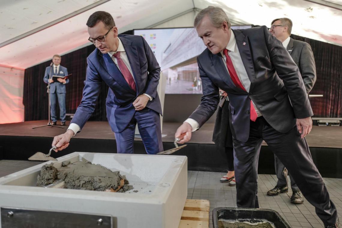 Muzeum Historii Polski z kamieniem. Budowa przebiega sprawnie