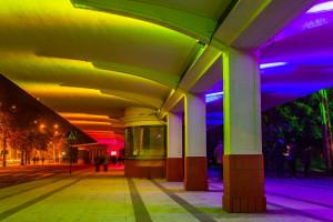 Przystanek Architektura w feerii barw
