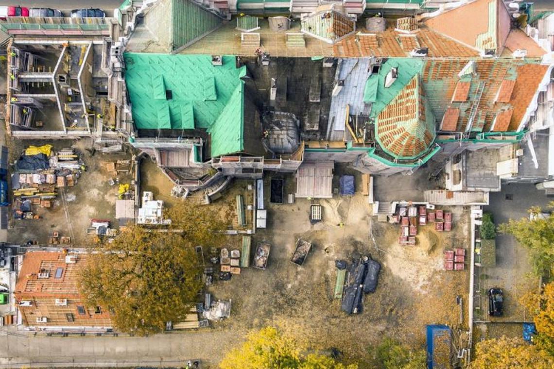 Półmetek odnowy pałacu Steinertów