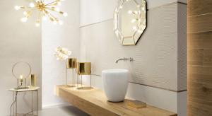 Łazienka cała w złocie
