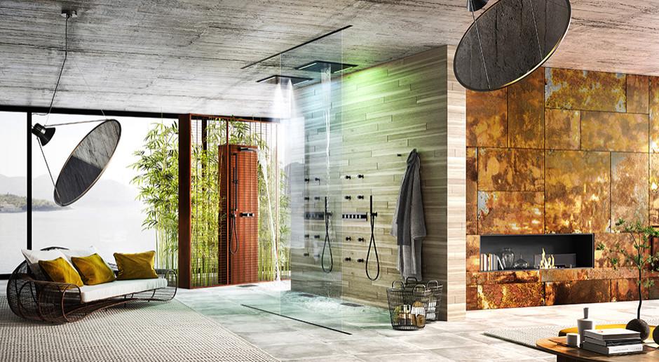 Połączenie wody, światła i powietrza. Nietuzinkowa kolekcja do łazienki