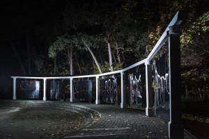 Instalacje artystyczne wpisane w bajkową architekturę Oliwy