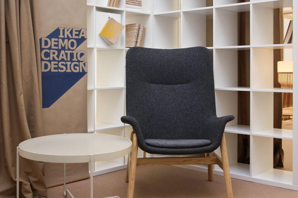 Targi Książki w Krakowie urządzone przez IKEA