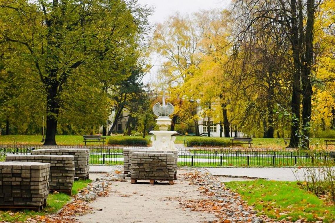 Park Moniuszki i park Sienkiewicza w przebudowie