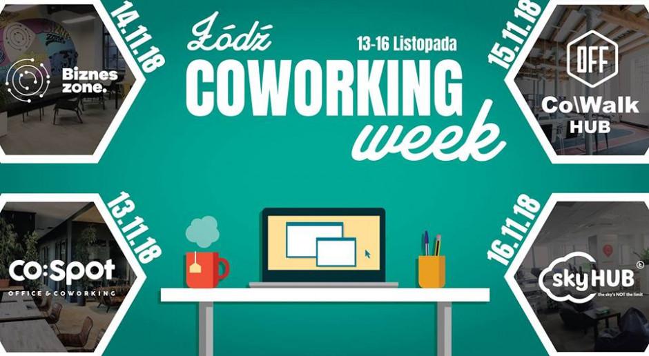 Dzieląc się, zyskujemy wszyscy. Rusza pierwsza edycja Łódź Coworking Week