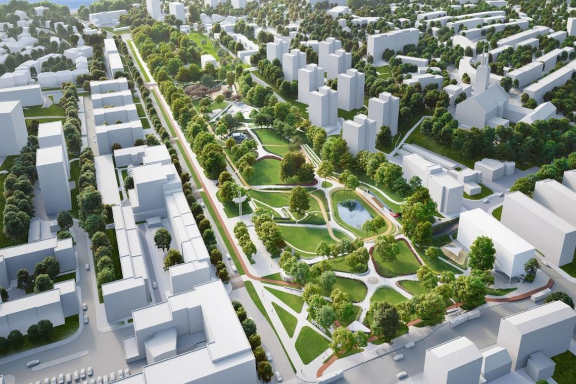 Park Centralny w Gdyni - tylko dwie oferty na budowę drugiego etapu
