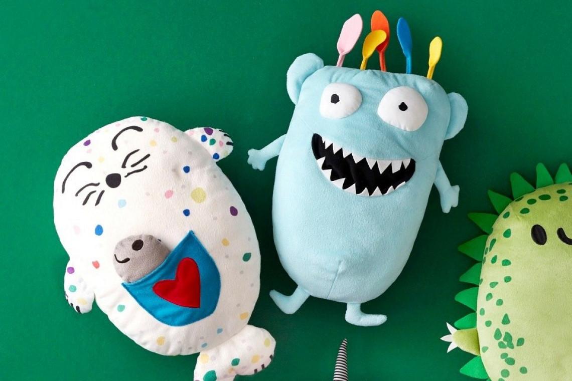 IKEA startuje ze sprzedażą zabawek zaprojektowanych przez dzieci. Wśród nich dzieło Natalii z Polski