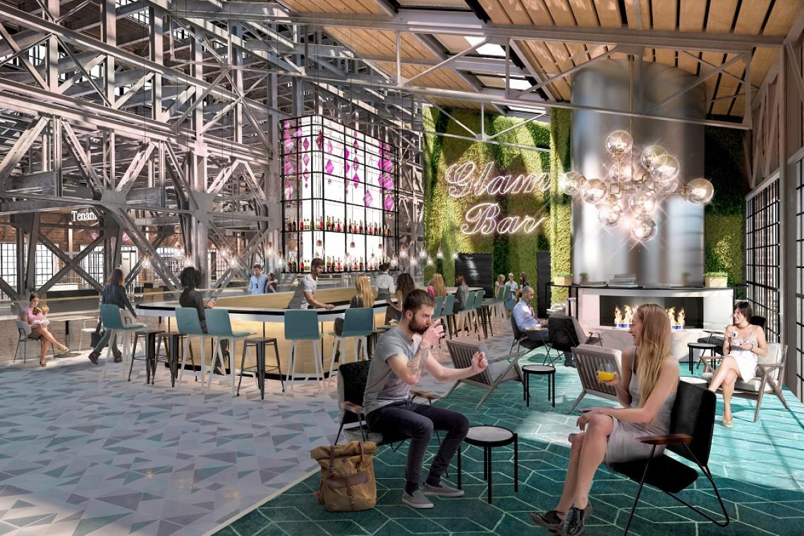 Przestrzeń Beauty Hall w Elektrowni Powiśle zaskoczy. To projekt Sud Architects