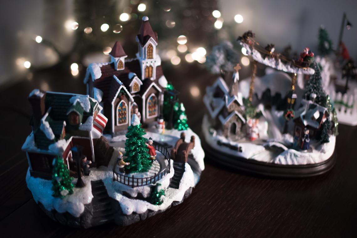 Bożonarodzeniowa szopka w kalwaryjskim sanktuarium