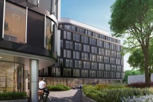 Biurowa bryła w sercu Wrocławia gotowa do startu. To projekt AHR Architects
