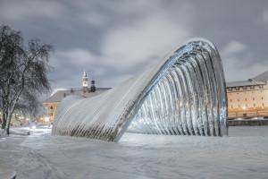 Achitektoniczna rzeźba Oskara Zięty nominowana do nagrody Miesa van der Rohe