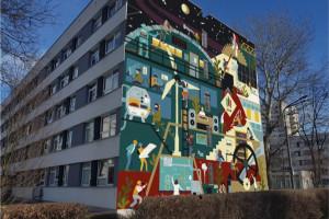 Konkurs na mural z okazji 100-lecia AGH w Krakowie. Trwa głosowanie internautów