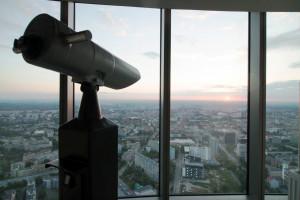 Punkt widokowy Sky Tower od nowa