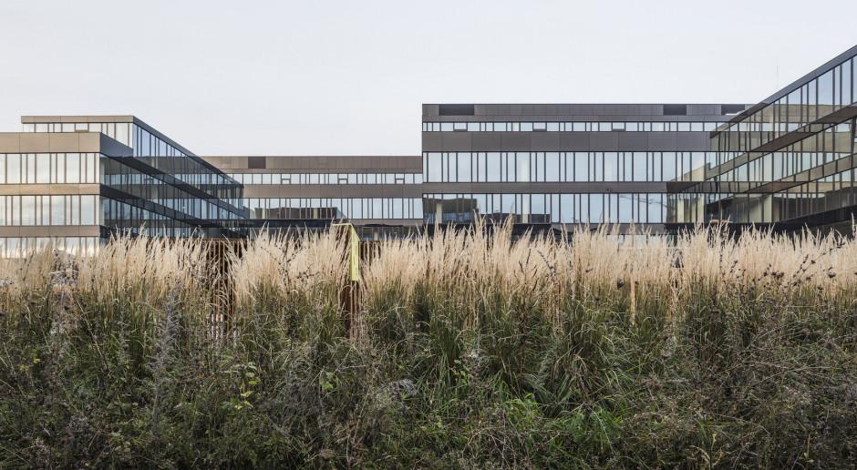 Oto ekologiczny kompleks biurowy autorstwa JEMS Architekci