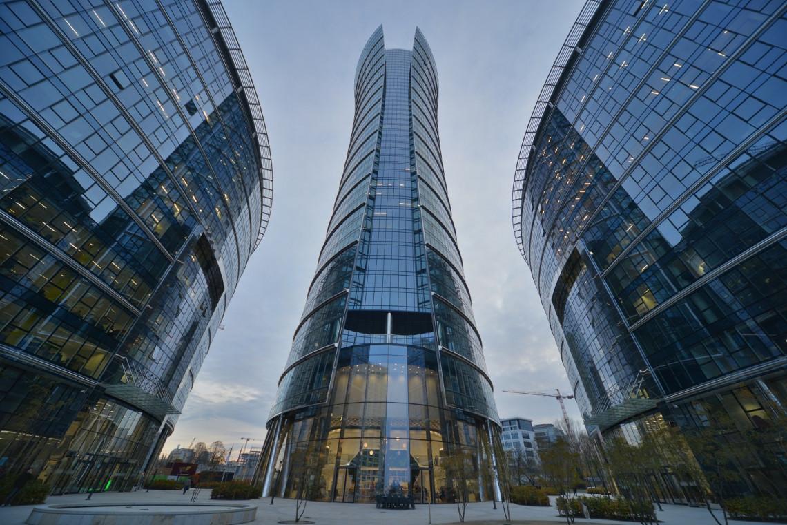 Rondo Daszyńskiego gigantyczną dzielnicą biznesową