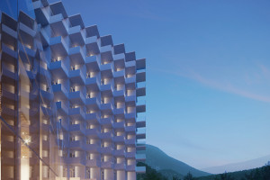 Crystal Mountain Resort - zobacz najnowsze wizualizacje projektu Q2Studio