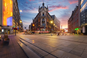 Inteligentny system zarządzania ruchem w Katowicach wciąż za drogi
