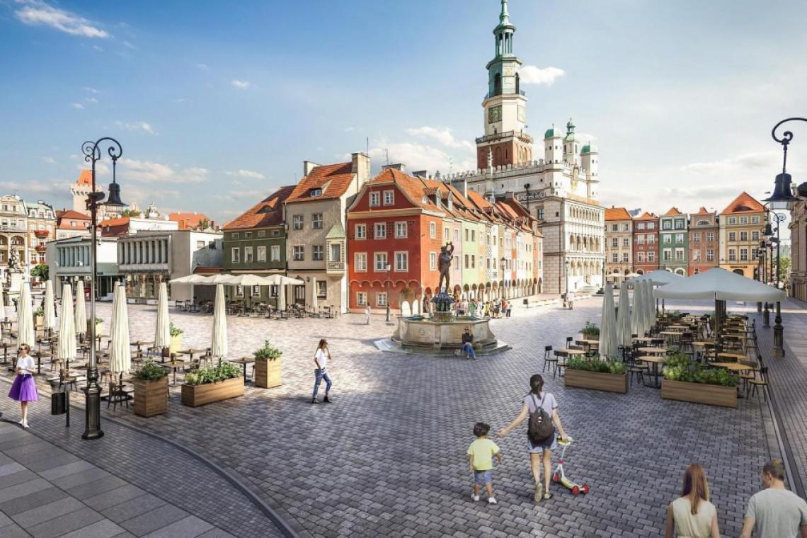 Jest szansa na dofinansowanie przebudowy Starego Rynku w Poznaniu
