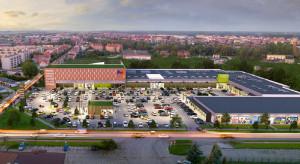 Galeria Metro Kwidzyn z zielonym światłem