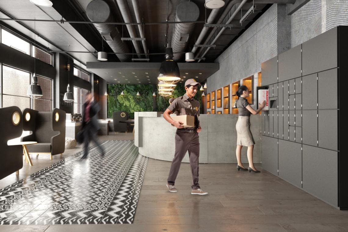 Kolektomat - must have nowoczesnych recepcji dostaje wsparcie na rozwój