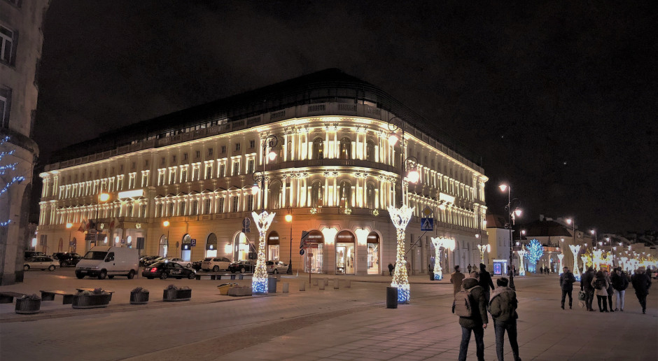 Hotel Europejski rozbłysnął
