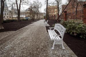 Tak się zmienia się ogród przy Pałacu Poznańskiego