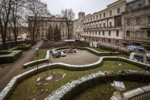 Tak się zmienia ogród przy Pałacu Poznańskiego