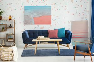 Kolor roku 2019 - Living Coral we wnętrzach