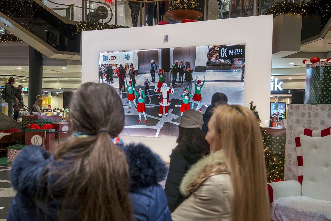 Święta w wymiarze AR, czyli Galeria Krakowska z rozszerzoną rzeczywistością