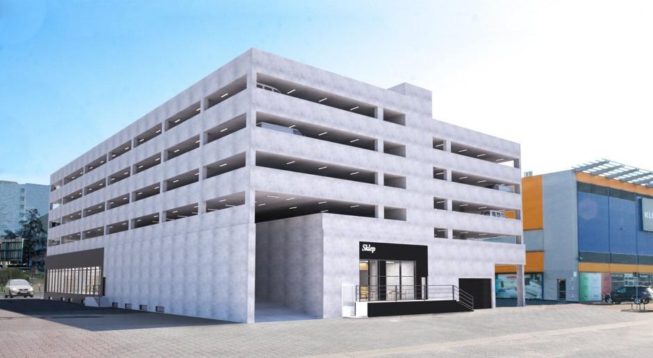 Przy Galerii Wnętrz Domar powstaje niezwykły... parking. To projekt TH Architekci